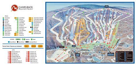 Camelback Ski Area Trail Map • Piste Map • Panoramic