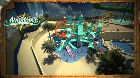 Animated tour of Aquatopia Indoor Waterpark coming spring